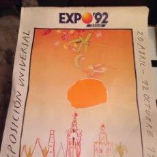 Carteles de Turismo: CARTEL EXPO 92 SEVILLA. Lote 56655764