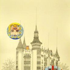 Carteles de Turismo: EL MODERNISME CATALA. CASA TERRADES JOSEP PUIG I CADAFALCH. Lote 62134084