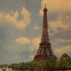 Carteles de Turismo: LES VEDETTES - PARIS - TOUR EIFFEL. Lote 62204392