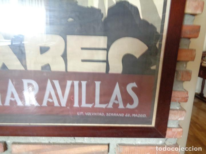 Carteles de Turismo: PNT.BALEARES.LA ISLA DE LAS MARAVILLAS. JOSE RENAU. AÑO 1929 - Foto 3 - 62254564