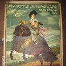 Carteles de Turismo: EXPOSICION INTERNACIONAL DE BARCELONA 1929-EL ARTE EN ESPAÑA - MED- 100X70 CM APROX.. Lote 62378320