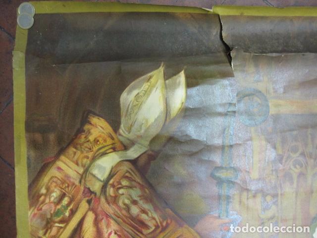 Carteles de Turismo: EXPOSICION INTERNACIONAL DE BARCELONA 1929-EL ARTE EN ESPAÑA - MED- 100X70 CM APROX. - Foto 2 - 62378508