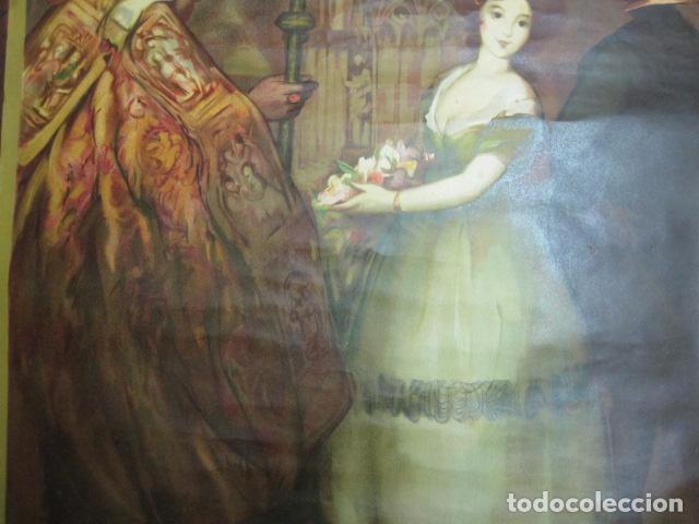 Carteles de Turismo: EXPOSICION INTERNACIONAL DE BARCELONA 1929-EL ARTE EN ESPAÑA - MED- 100X70 CM APROX. - Foto 4 - 62378508