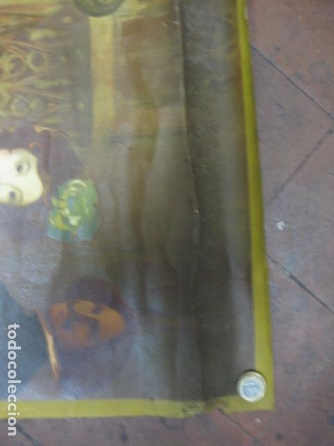 Carteles de Turismo: EXPOSICION INTERNACIONAL DE BARCELONA 1929-EL ARTE EN ESPAÑA - MED- 100X70 CM APROX. - Foto 9 - 62378508