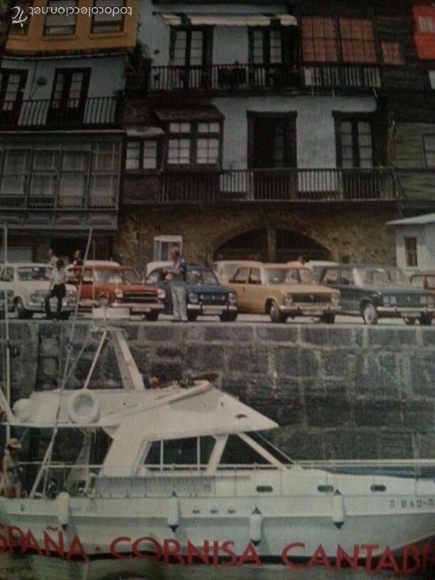 EXCEPCIONAL CARTEL AGOTADO DIRECCION GENERAL DE TURISMO AÑOS 70. CANTABRIA SANTANDER. 125X75 CM (Coleccionismo - Carteles Gran Formato - Carteles Turismo)