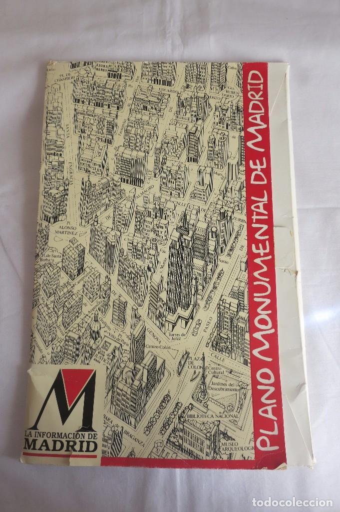 POSTER DE MADRID MONUMENTAL (Coleccionismo - Carteles Gran Formato - Carteles Turismo)