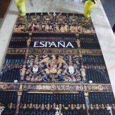 Carteles de Turismo: DIFICIL CARTEL ESPAÑA INFORMACION Y TURISMO CAPILLA REAL GRANADA 1974. Lote 71635227