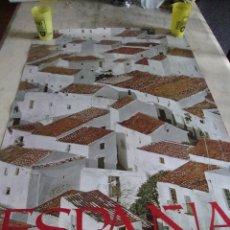 Carteles de Turismo: DIFICIL CARTEL ESPAÑA INFORMACION Y TURISMO CASARES MALAGA. Lote 71635315