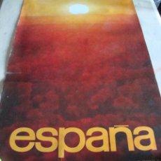 Carteles de Turismo: DIFICIL CARTEL ESPAÑA INFORMACION Y TURISMO ESPAÑA. Lote 71923783