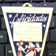 Carteles de Turismo: ANTIGUO Y GRACIOSO SOUVENIR BANDERÍN DE MALLORCA . Lote 73529187