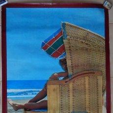 Carteles de Turismo: CARTEL ESPAÑA - ISLAS CANARIAS - PUBLICACIONES DEL MINISTERIO DE INFORMACIÓN Y TURISMO. Lote 77616697