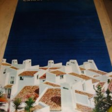 Carteles de Turismo: DIFICIL CARTEL ESPAÑA INFORMACION Y TURISMO COSTA DEL SOL. Lote 80130781