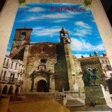 Carteles de Turismo: DIFICIL CARTEL ESPAÑA INFORMACION Y TURISMO TRUJILLO CACERES. Lote 80130881