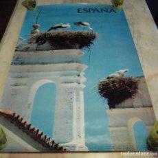 Carteles de Turismo: DIFICIL CARTEL ESPAÑA INFORMACION Y TURISMO . Lote 81964500