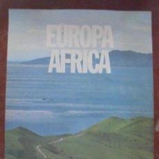 Carteles de Turismo: CARTEL. EUROPA - AFRICA. CADIZ, FARO DE DOS MUNDOS. 70 X 50 CM. Lote 83943856