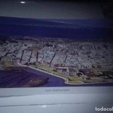 Carteles de Turismo: LA PROVINCIA DE CÁDIZ A VISTA DE PÁJARO. SAN FERNANDO. EST22B1. Lote 87202644
