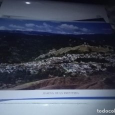 Carteles de Turismo: LA PROVINCIA DE CÁDIZ A VISTA DE PAJARO. JIMENA DE LA FRONTERA. EST22B1. Lote 87203880