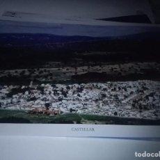 Carteles de Turismo: LA PROVINCIA DE CÁDIZ A VISTA DE PÁJARO. CASTELLAR. EST22B1. Lote 87204060
