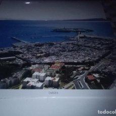 Carteles de Turismo: LA PROVINCIA DE CÁDIZ A VISTA DE PÁJARO. TARIFA. EST22B1. Lote 87204096