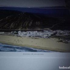Carteles de Turismo: LA PROVINCIA DE CÁDIZ A VISTA DE PÁJARO. ZAHARA DE LOS ATUNES. EST22B1. Lote 87204236