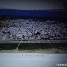 Carteles de Turismo: LA PROVINCIA DE CÁDIZ A VISTA DE PÁJARO. CONIL DE LA FROTERA. EST22B1. Lote 87204456