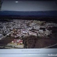 Carteles de Turismo: LA PROVINCIA DE CÁDIZ A VISTA DE PÁJARO BENALUP - CASAS VIEJAS. EST22B1. Lote 87204768