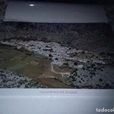Carteles de Turismo: LA PROVINCIA DE CÁDIZ A VISTA DE PÁJARO. VILLALUENGA DEL ROSARIO. EST22B1. Lote 87205244