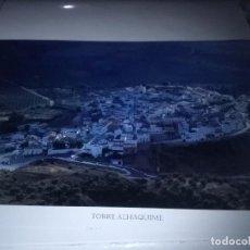 Carteles de Turismo: LA PROVINCIA A VISTA DE PÁJARO. TORRE ALHÁQUIME. EST22B1. Lote 87205872