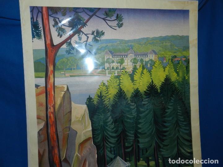 Carteles de Turismo: (M) CARTEL BAGNOLES DE LORNE STATION THERMALE CENTRE DE TOURISME TENNIS, GOLF, CASINOS - Foto 3 - 91076010