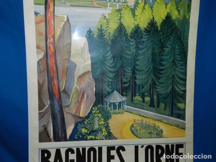 Carteles de Turismo: (M) CARTEL BAGNOLES DE LORNE STATION THERMALE CENTRE DE TOURISME TENNIS, GOLF, CASINOS - Foto 5 - 91076010