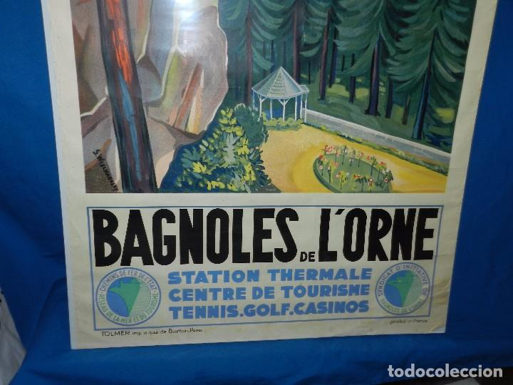 Carteles de Turismo: (M) CARTEL BAGNOLES DE LORNE STATION THERMALE CENTRE DE TOURISME TENNIS, GOLF, CASINOS - Foto 6 - 91076010