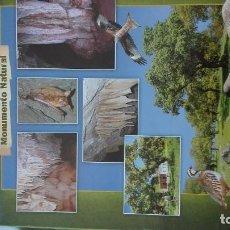 Carteles de Turismo: EXTREMADURA CUEVAS DE FUENTES DE LEON. Lote 93950475