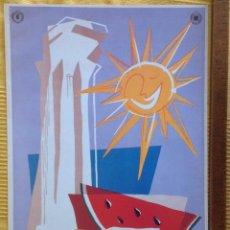 Carteles de Turismo: COLECCION DE 6 CARTELES ITALIA, CONMEMORATIVOS 70 ANIVERSARIO. 33,5 X 48,5 CM. VELL I BELL. Lote 210231465