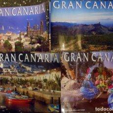Carteles de Turismo: LOTE DE 4 POSTERS FOTOGRAFIAS DE TURISMO DE - GRAN CANARIA - AÑOS 80, TAMAÑO 68X50 CMS.. Lote 97006595