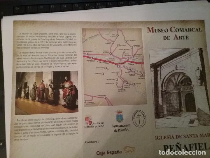 Carteles de Turismo: Tríptico Iglesia de Santa Maria Peñafiel - Foto 2 - 97506767