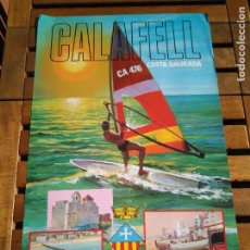 Affissi di Turismo: -- CARTEL CALAFELL COSTA DAURADA. 64*43 CM. Lote 101786447