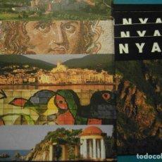 Carteles de Turismo: CATALUNYA. 10 IMATGES DE 96CM X 34 CM. GENERALITAT DE CATALUNYA. 1999. FOTOGRAFIA ORIOL ALAMANY. Lote 102598787