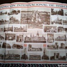 Carteles de Turismo: EXPOSICION INTERNACIONAL. BARCELONA. RECUERDO DE LA.. Lote 103118170