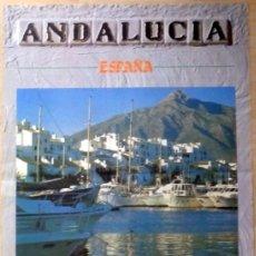 Carteles de Turismo: CARTEL TURISMO ANDALUCIA 1985, MARBELLA, 44X64 CMS. Lote 107822427