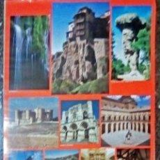 Carteles de Turismo: CARTEL TURISTICO DE CUENCA - SITIOS TURISTICOS DE LA PROVINCIA - DE 1992 TAMAÑO 67X47 CMS. Lote 245980320