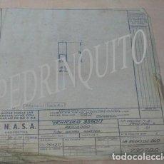 Carteles de Turismo: PLANOS RADIADORES Y NODRIZAS PEGASO -ENASA. Lote 111288119