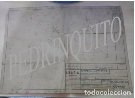 Carteles de Turismo: PLANOS RADIADORES Y NODRIZAS PEGASO -ENASA - Foto 4 - 111288119