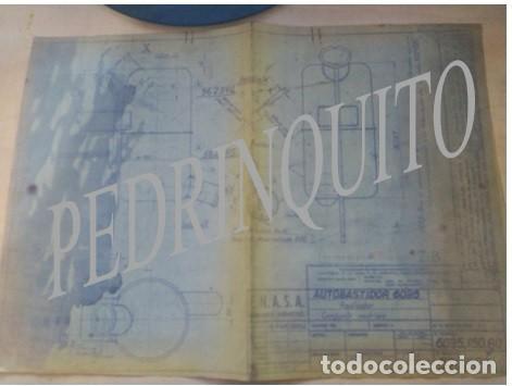 Carteles de Turismo: PLANOS RADIADORES Y NODRIZAS PEGASO -ENASA - Foto 5 - 111288119