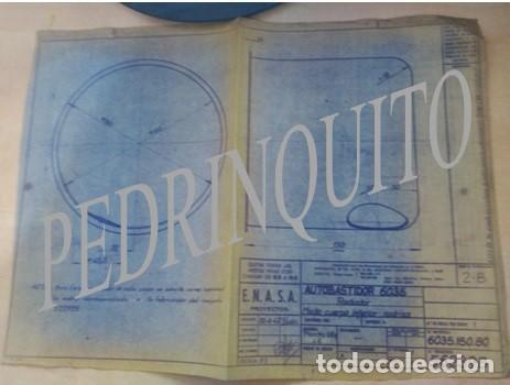 Carteles de Turismo: PLANOS RADIADORES Y NODRIZAS PEGASO -ENASA - Foto 6 - 111288119