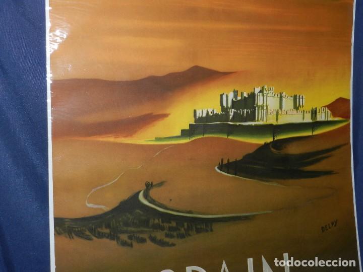 Carteles de Turismo: (M) CARTEL SPAIN ( ESPAÑA ) PATRONATO GENERAL DE TURISMO MADRID , ILUSTRADO POR DELPY - Foto 3 - 114550191