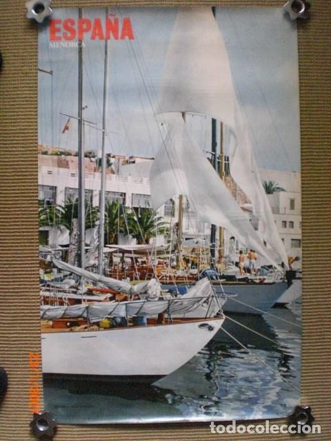 CARTEL TURÍSTICO DE MENORCA (Coleccionismo - Carteles Gran Formato - Carteles Turismo)