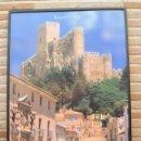 Carteles de Turismo: CARTEL GRANDE PLASTIFICADO Y ENMARCADO. ALMANSA - CASTILLOS DE ALBACETE. 70 X 100 CMS.. Lote 116640339