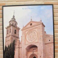 Carteles de Turismo: CARTEL GRANDE PLASTIFICADO Y ENMARCADO. TALAVERA DE LA REINA : CIUDAD DE LA CERAMICA. 70 X 100 CMS.. Lote 116640907