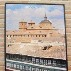 Carteles de Turismo: CARTEL GRANDE PLASTIFICADO Y ENMARCADO. ALMAGRO - PROVINCIA DE CIUDAD REAL. 70 X 100 CMS.. Lote 116641399