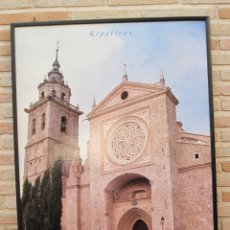 Carteles de Turismo: CARTEL GRANDE PLASTIFICADO Y ENMARCADO. 70 X 100 CMS. TALAVERA ( TOLEDO ) CIUDAD DE LA CERAMICA.. Lote 116646015